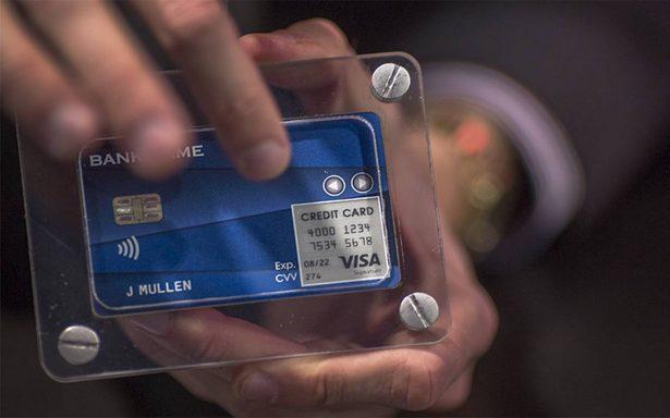 Presentan en CES de Las Vegas tarjeta de pago múltiple