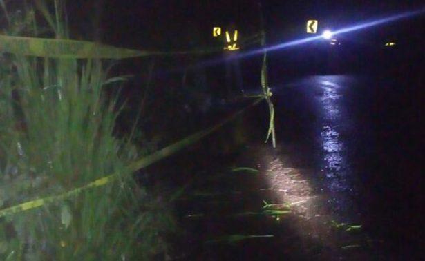 Lluvias provocan socavón en Catemaco-Hueyapan