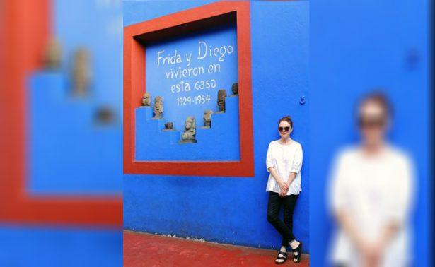 La actriz Julianne Moore se pasea por la Ciudad de México