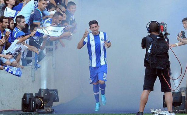 Regresa Héctor Herrera de su lesión y confía remontar con Porto ante Juventus