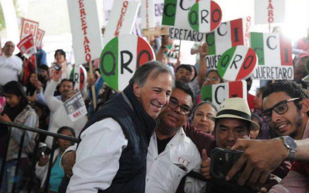 Campesinos del PRI piden a Meade abrazar sus demandas a cambio de apoyo