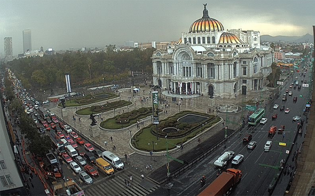 Reciben lluvia ligera al menos 11 delegaciones de la CDMX