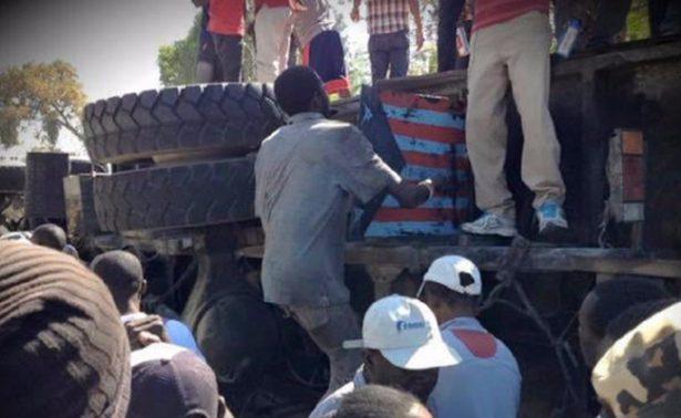 Autoridades reportan al menos 34 muertos en accidente de autobús en Haití