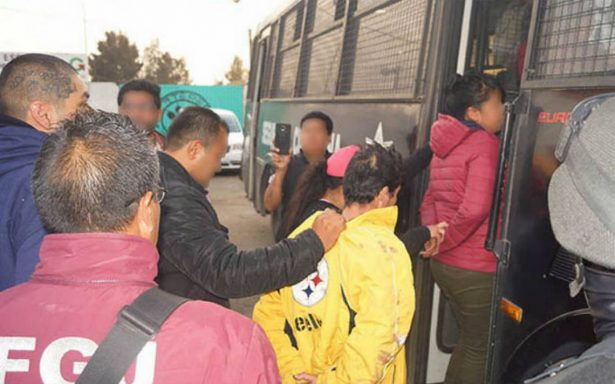 Ingresan a un penal a 10 de los detenidos por su probable participación en el robo a tiendas departamentales en Edoméx