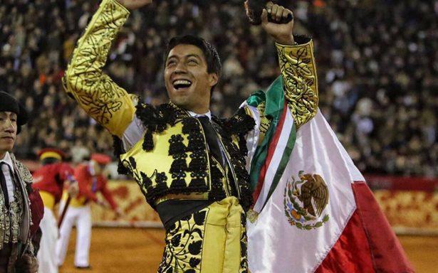 Sergio Flores, máximo triunfador de la Corrida Guadalupana pro-damnificados de septiembre