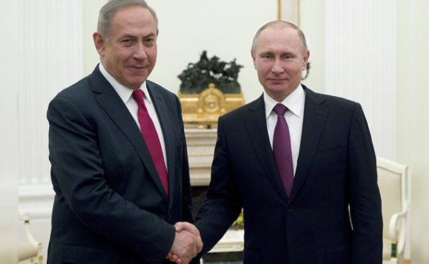 Putin pide a Netanyahu olvidar viejas rencillas con Irán