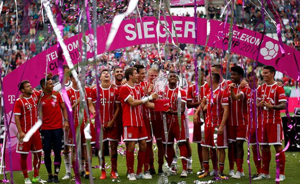 Con el pie derecho. James Rodríguez debuta con Bayer Munich y es campeón