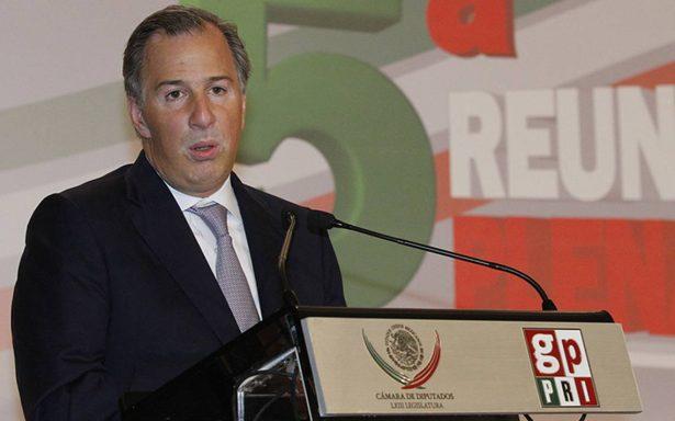 Pese a crisis política se entregará paquete económico asegura Meade