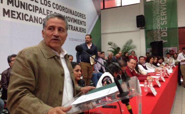 Arturo Zamora pide licencia al Senado