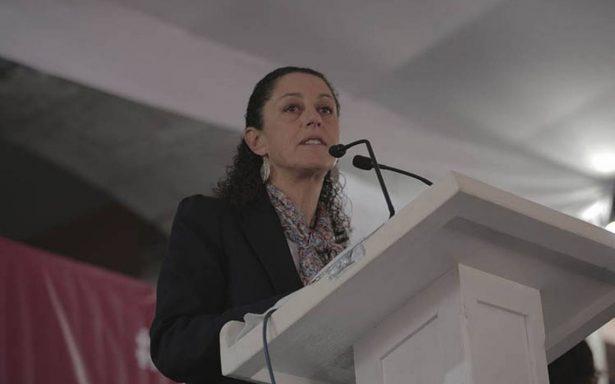 Ha sido un honor servir a Tlalpan, dice Sheinbaum en su camino por la CDMX