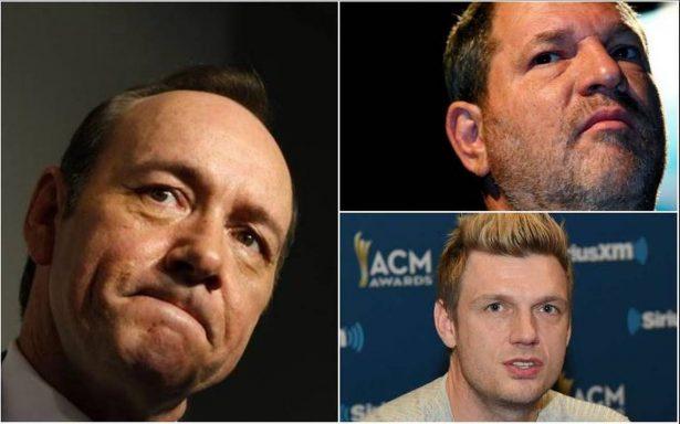 Ellos fueron los abusadores sexuales que marcaron a Hollywood este 2017