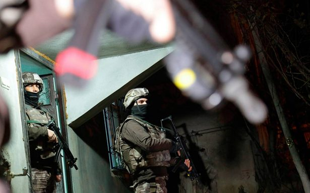 Detienen en Turquía a 12 terroristas del EI; planeaban ataques para Año Nuevo