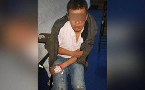 Se activa alerta sísmica y detenido se fuga de la Fiscalía de Puebla