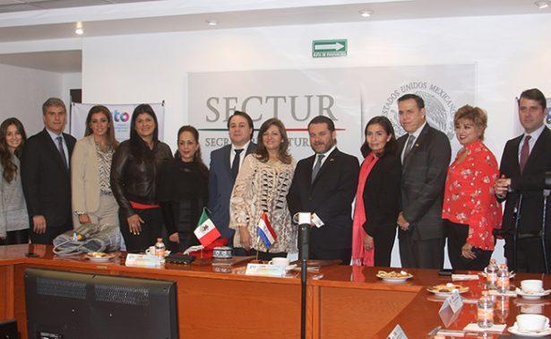 Estrechan lazos de cooperación turística Guanajuato y Paraguay