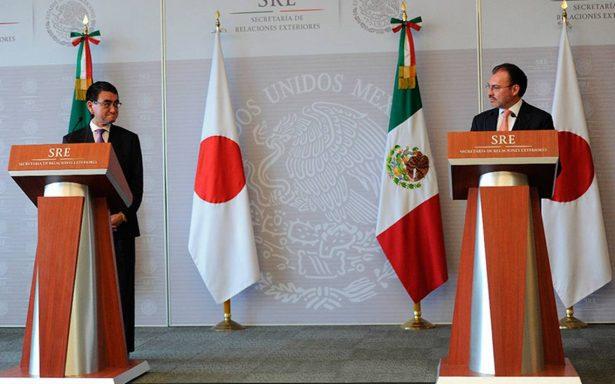 Hay certidumbre en nuestra relación comercial y de inversión con Japón: Videgaray