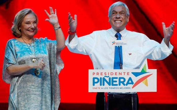 Sebastián Piñera es el presidente electo de Chile tras ventaja en cómputo