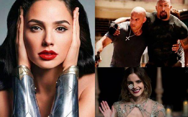Ellos son los actores y actrices que se apoderaron de la taquilla en 2017