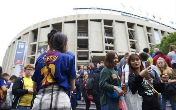 A puerta cerrada el Barcelona-Las Palmas por referéndum