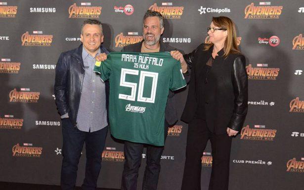 Mi país es fuerte gracias a México, dice 'Hulk' en la premier de Avengers