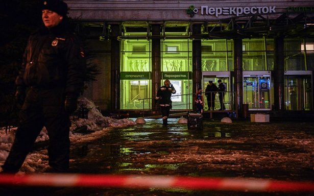 Detienen al autor del atentado en supermercado de San Petersburgo