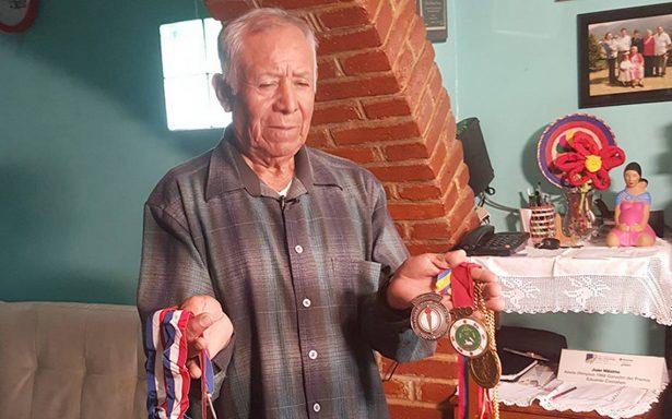 Juan Máximo Martínez campeón olímpico, lucha contra el cancer