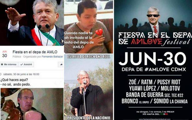 """""""Fiesta en el depa de AMLO"""" se viraliza y ¡los memes se suman a la invitación!"""