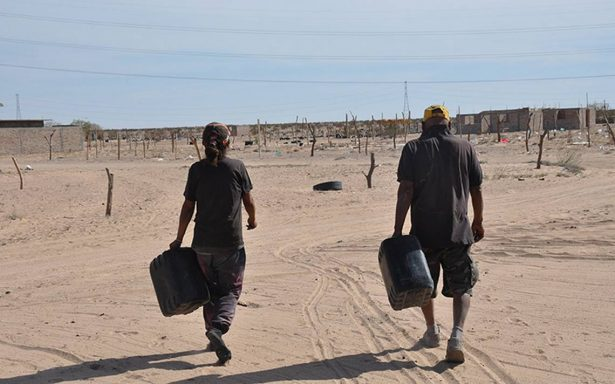 Habitantes batallan por agua en San Luis Río Colorado desde hace 10 años