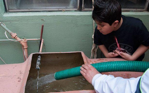 Tlalnepantla, el más afectado por fuga del Sistema Cutzamala