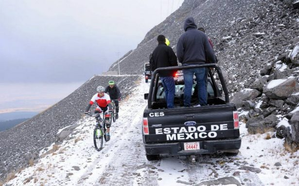 Despliegan operativo en Nevado de Toluca ante arribo de visitantes