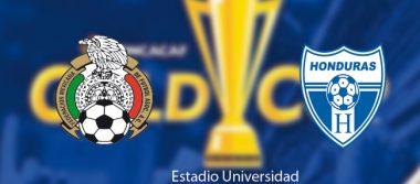 México ante Honduras por el pase a la semifinal en la Copa Oro