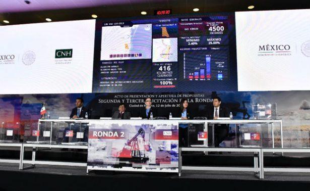 Consorcio canadiense-mexicano gana 7 contratos en Ronda 2.2; se declaran 3 desiertas