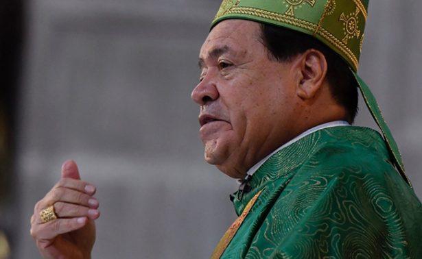Norberto Rivera ya compareció ante MP, confirma vocero de la Arquidiócesis