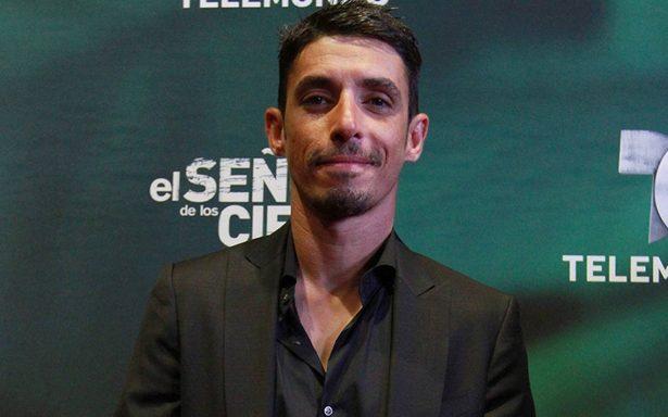 """Alberto Guerra dara vida al personaje de El Chema en la serie """"El señor de los cielos"""""""