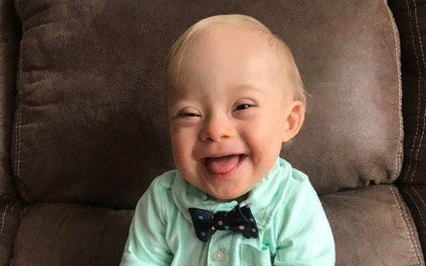 Este bebé enamoró con su sonrisa a Gerber y ahora será su imagen oficial