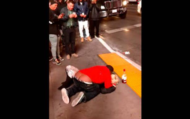 Video revela ataque sexual a una mujer inconsciente en Las Vegas