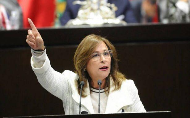 Rocío Nahle insiste que caso Eva Cadena es estrategia del PAN