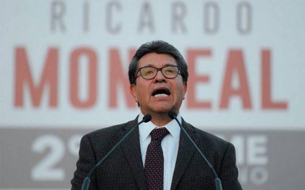 Monreal muestra fuerza en el escenario de la política mexicana