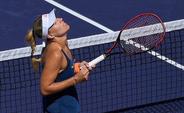 Kerber queda fuera en Torneo de Indian Wells