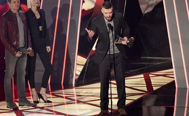 Bruno Mars y Timberlake brillan en los Premios iHeartRadio
