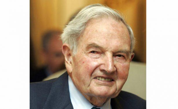 Muere a los 101 años el financiero David Rockefeller