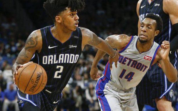 Magic de Orlando puso fin a una racha de nueve derrotas y vence a Pistons de Detroit