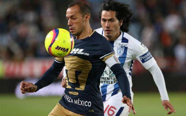 Nicolás Castillo inicia en plan grande y Pumas vence a Pachuca 3-2