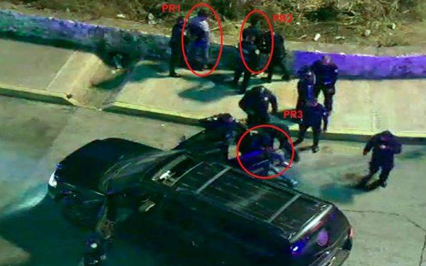 [Video] Hijo del edil de Valle de Chalco, uno de los detenidos tras persecución 'de película'