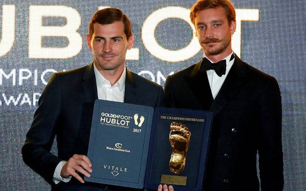 Ni Messi, ni CR7: Iker Casillas gana el Premio Golden Foot 2017