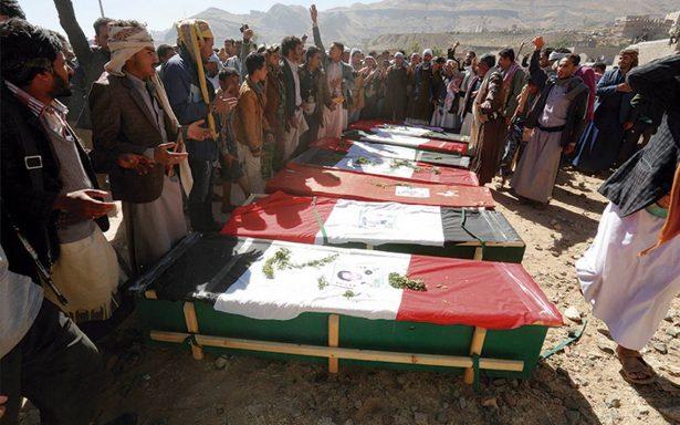 Bombardeos aéreos dejan 78 civiles muertos en Yemen