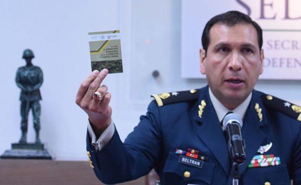 Que presenten pruebas antes de acusar a militares, exhorta la Sedena