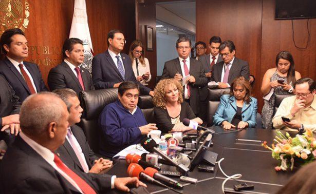 Tras la designación de Padierna, doce legisladores se separan del PRD