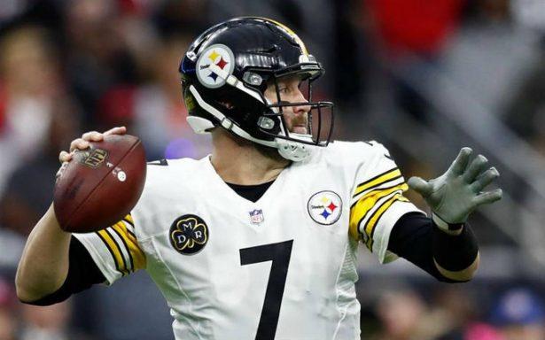 Roethlisberger da triunfo a Steelers y evitan primera ronda playoffs