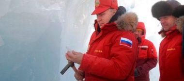 Putin a la conquista del Ártico por reservas no exploradas de gas y petróleo