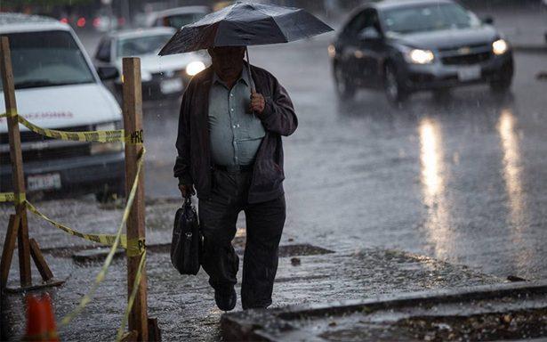 Se mantienen las lluvias en la mayor parte del país